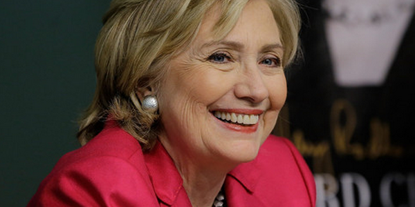 Clinton Lags Behind On Trust